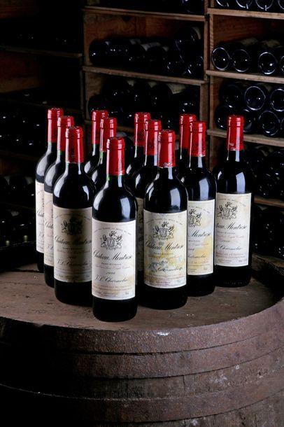 12 Blles Château Montrose - 1999 - Saint-Estèphe...