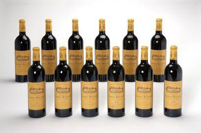 12 blles Château Lafon-Rochet - 2000 - Saint-Estèphe...