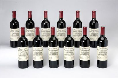 12 blles Château Haut-Marbuzet - 2004 - Saint-Estèphe Cru bourgeois exceptionnel...