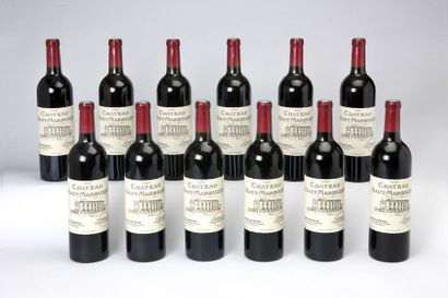 12 blles Château Haut-Marbuzet - 2005 - Saint-Estèphe...