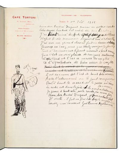APOLLINAIRE Guillaume (1880-1918)