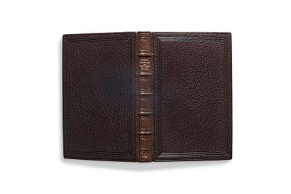 BAUDELAIRE Charles (1821-1867) Les Fleurs du mal, édition originale du roman avec...