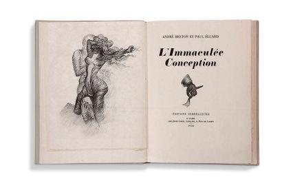 BRETON ANDRÉ (1896 - 1966), ÉLUARD PAUL (1895-1952) L'Immaculée Conception Paris,...