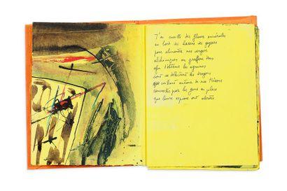 BUTOR MICHEL (1926-2016), BALTAZAR JULIUS (1949-) Soufre Paris, 1991. In-12 en feuilles,...