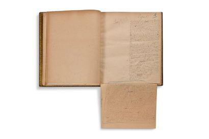 GONCOURT EDMOND (1822-1896) ET JULES (1830-1870) DE Germinie Lacerteux, manuscrit...