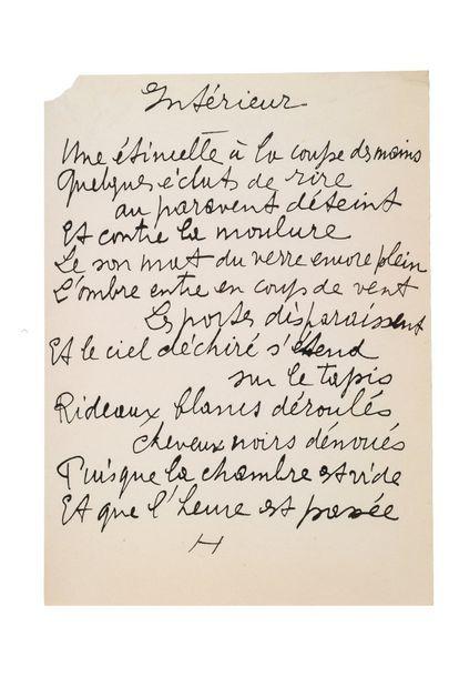 REVERDY PIERRE (1889-1960)