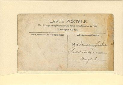 ROUSSEAU HENRI, DIT LE DOUANIER (1844-1910). L.A.S. «H. Rousseau», Paris 21 juin...