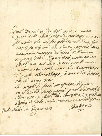 CANOVA ANTONIO (1757-1822).