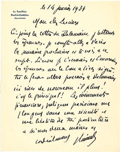 VLAMINCK MAURICE DE (1876-1958).