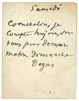 DEGAS EDGAR (1834-1917).