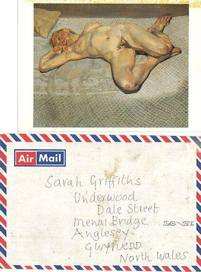 FREUD LUCIAN (1922-2011). L.A.S. «Lucian Freud», [Londres 10 décembre 1990], à Sarah...