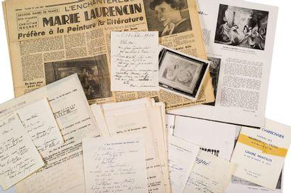 LAURENCIN MARIE (1883-1956).