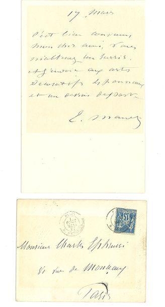 MANET ÉDOUARD (1832-1883).