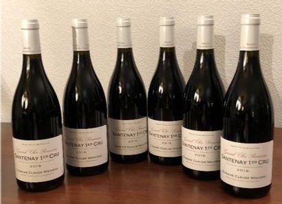 Domaine Claude Nouveau à Nolay (21)  6 bouteilles...