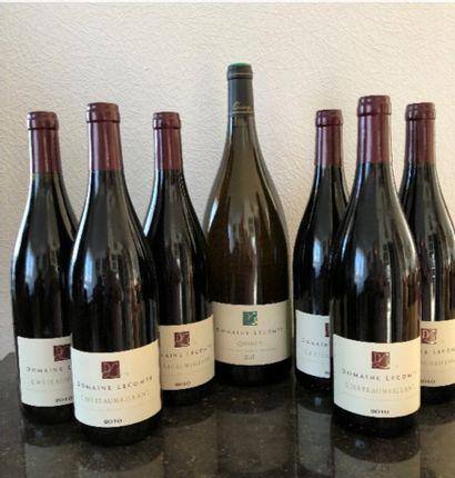 Domaine LECOMTE – Quincy (18)  6 bouteilles...