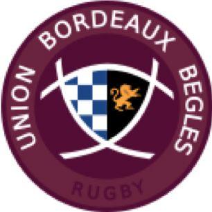 Maillot de l'UNION BEGLES BORDEAUX Rugby,...