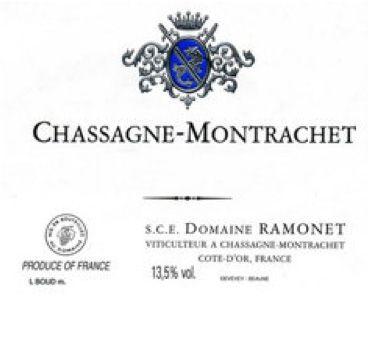Domaine RAMONET à Chassagne Montrachet (21)  1 jéroboam « les Bienvenues Batard...