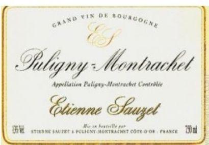 Domaine Etienne SAUZET à Puligny Montrachet (21)  4 bouteilles Puligny Montrachet...
