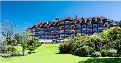 1 week end pour 2 personnes Hôtel Ermitage de l'Evian Resort 4*  Dîner - Nuit –...