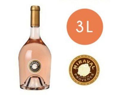 1 Jéroboam rosé (3 litres) 2017 du château...