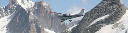 1 vol en CESSNA au-dessus du Mont-Blanc pour...