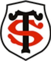 1 maillot de l'équipe de rugby du STADE TOULOUSAIN dédicacé par  les joueurs : Maxime...