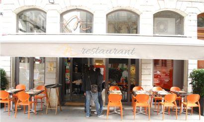 Restaurant «chez M » à Lyon (69006)  1 repas pour 2 personnes comprenant 1 entrée,...