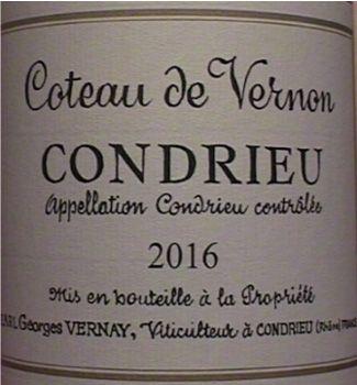 Domaine Georges Vernay à Condrieu (69)  1 magnum Condrieu- Coteaux de Vernon 20...