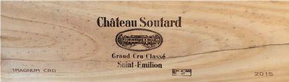 CHÂTEAU SOUTARD – Saint Emilion (33)  1 magnum...
