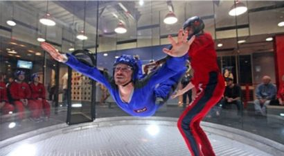 Vol chute libre indoor IFLY pour 1 adulte...