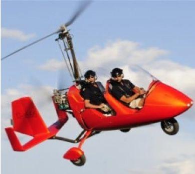 1 vol en autogire 40 minutes  au dessus de...