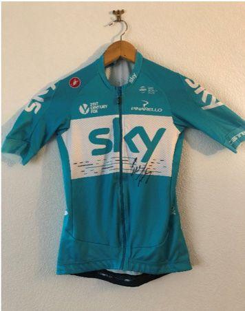 1 maillot SKY, signé par Geraint THOMAS  Vainqueur...