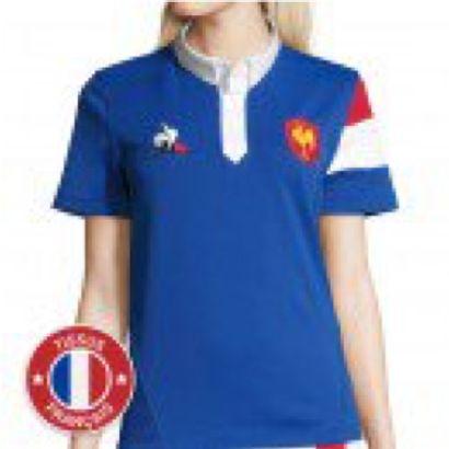 1 maillot dédicacé de l'équipe de France...