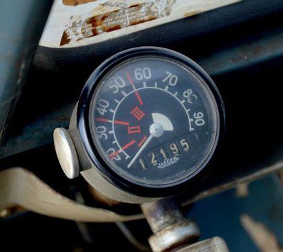 1959 - CITROËN 2CV AZ Sortie de grange Moteur non bloqué Coffre hayon Vendue sans...