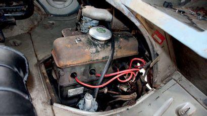 1960 - CITROËN HY «BP» Même propriétaire pendant 58 ans Livrée British Petroleum...