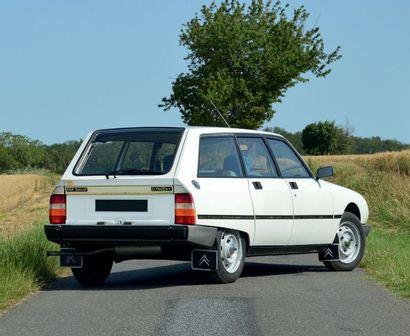 1982 – CITROËN GSA SPÉCIAL BREAK Faible kilométrage Prix attractif Bel état général...