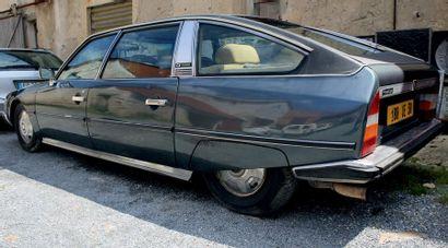1976 - CITROËN CX PRESTIGE PAVILLON PLAT Deuxième main Seulement 140 000 km au compteur...