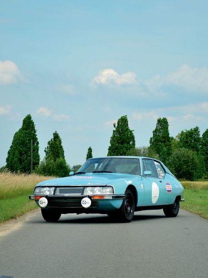 1971 – CITROËN SM Une mécanique fiabilisée et performante Voiture éligible à de nombreuses...