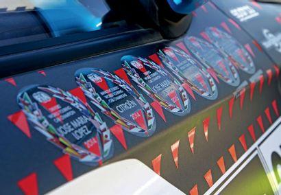 2015 – CITROËN C ELYSÉE WTCC Palmarès exceptionnel Sort des Ateliers de PSA Motorsport...