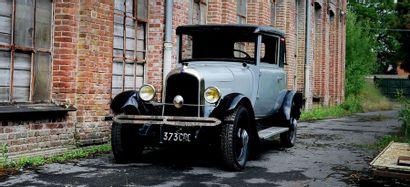 1928 - CITROEN B14 FAUX-CABRIOLET