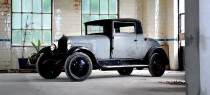 CIRCA 1926 CITROEN B14 COUPE