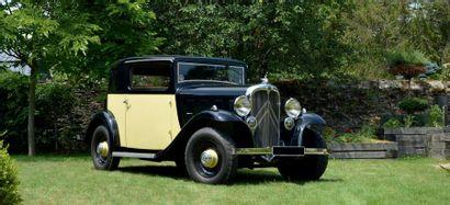 1933 – CITROEN ROSALIE 8CV COUPE SICAL