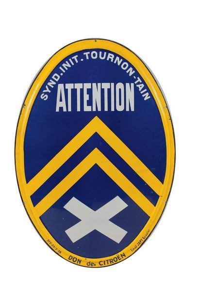 CITROËN Synd. Init. Tournon-Tain, Attention...