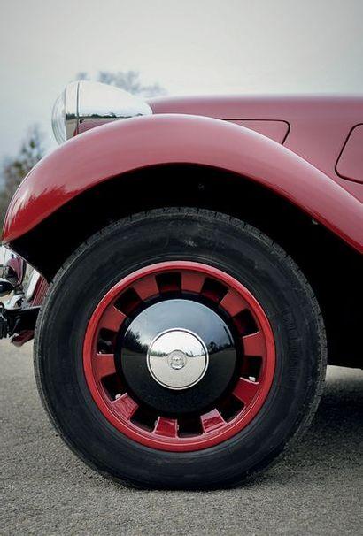 1938 - CITROEN TRACTION 11B CABRIOLET Rarissime version 11 B large cabriolet Restauration...