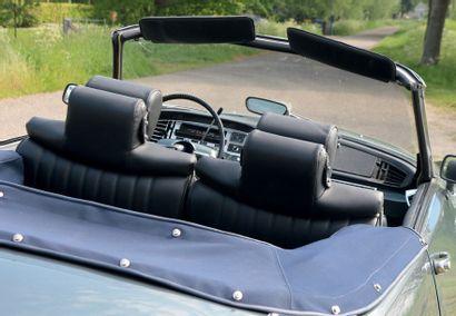 1968 - CITROËN DS 21 CABRIOLET Authentique Cabriolet Chapron Usine estauration ancienne...