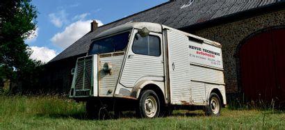 1965 - CITROËN TYPE H Excellent projet de restauration Sain et complet Ex- RTA Carte...