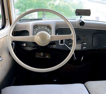 1956 - CITROEN TRACTION 11 B 2e main depuis 1957 Historique connu Superbe patine...