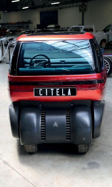 1991 - CITROËN CITELA Collection du Conservatoire Citroën Maquette originale Objet...