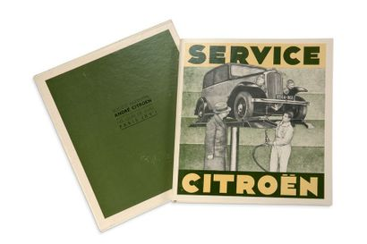 SERVICE CITROËN Reproduction de la brochure...