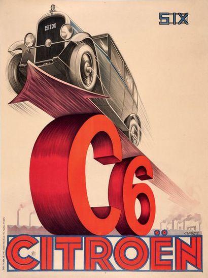 PIERRE LOUŸS Citroën C4 Affiche originale...